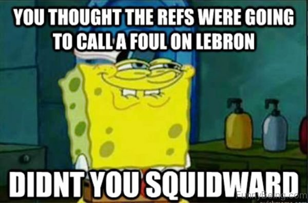 You Thought The REFS Were Going