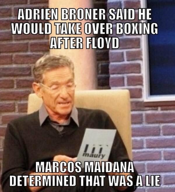 Adrien Broner Said He Would Take Over