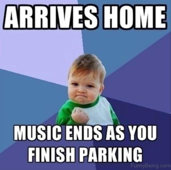Arrives Home