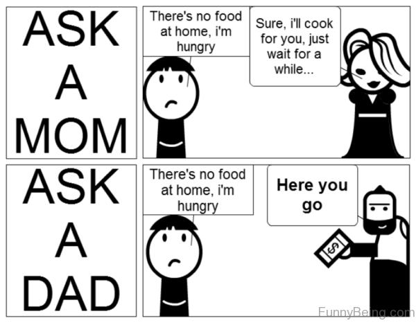Ask A Mom Vs Dad