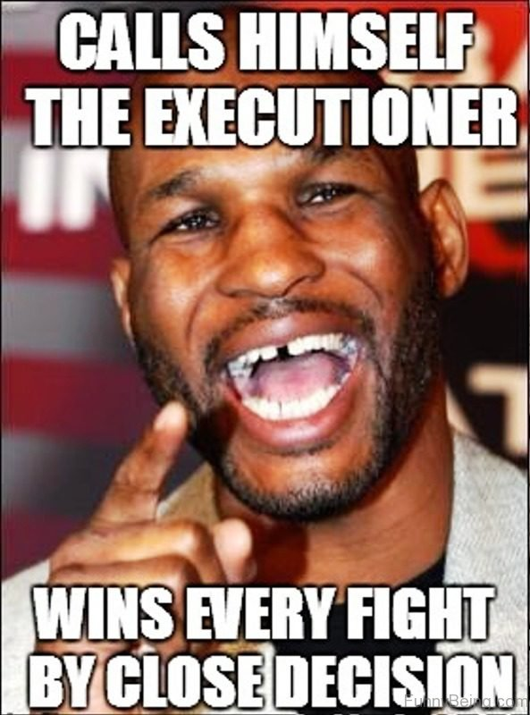 Calls Himself The Executioner