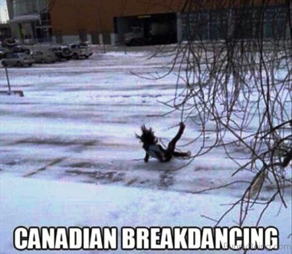 Canadian Breakdancing
