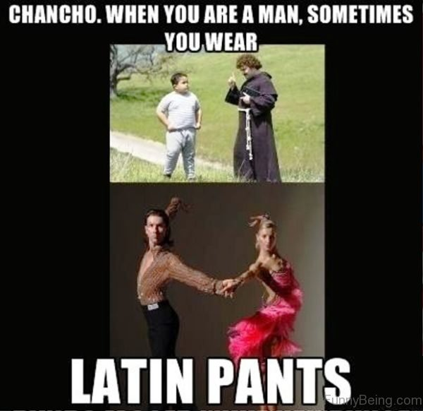Chancho When You Are A Man