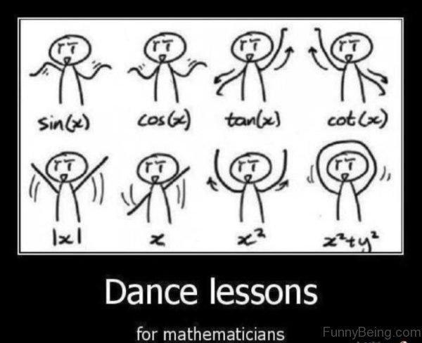 Dance Lesson For Mathematicians