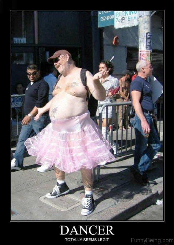 Dancer Totally Seems Legit