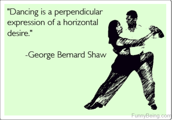 Dancing Is A Perpendicular Expression