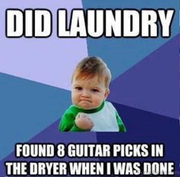 Did Laundry Found 8 Guitar