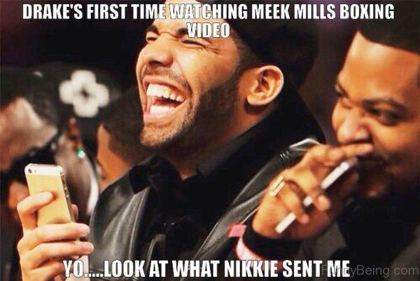 Drake First Time Watching Meek Mills Boxing
