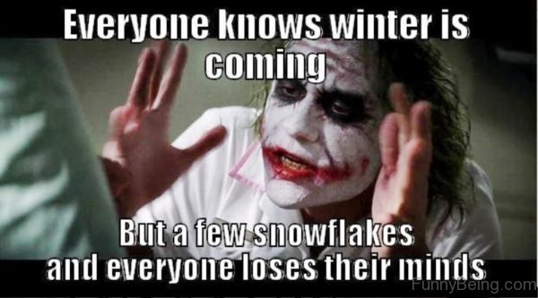 Everyone Knows Winter Is Coming