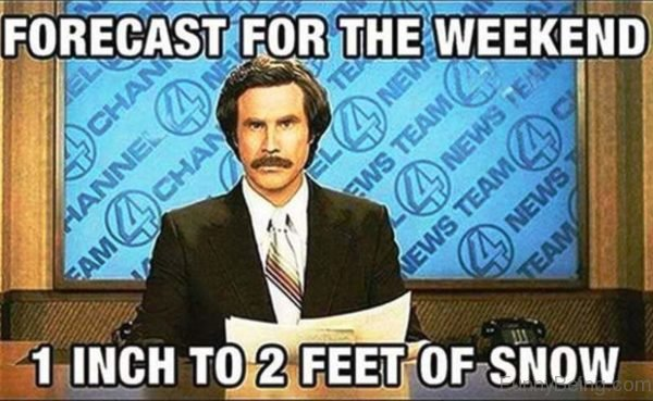 Forecast For The Weekend