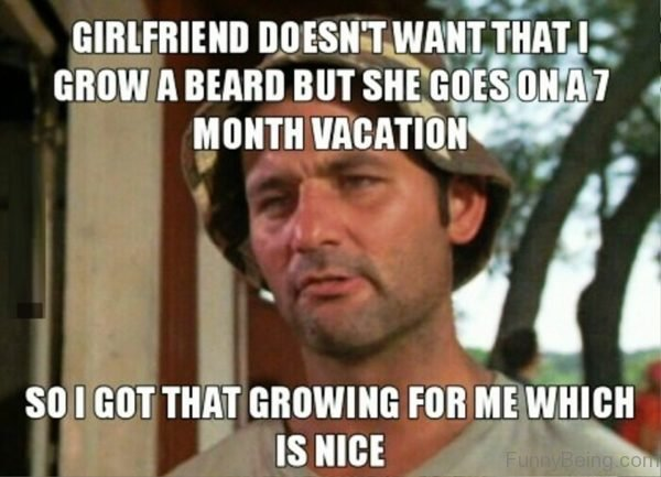 Girlfriend Doesnt Want That I Grow A Beard