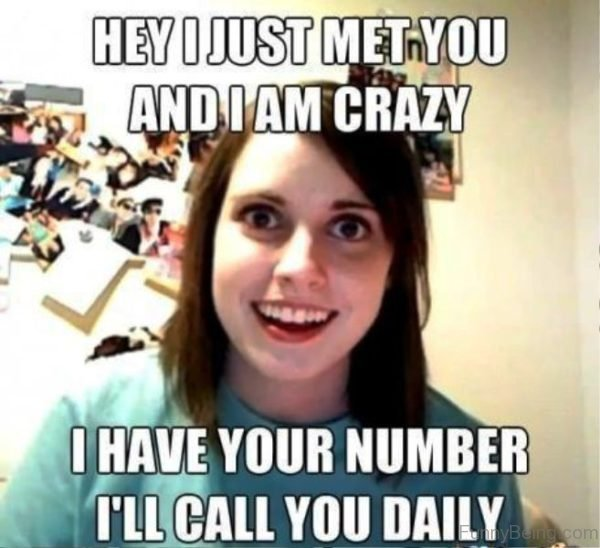 Hey I Just Met You And I Am Crazy