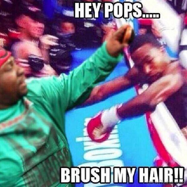 Hey Pops Brush My Hair
