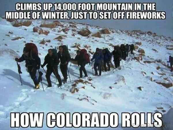 How Colorado Rolls