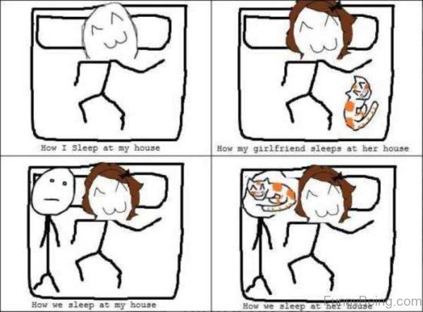 How I Sleep At My House