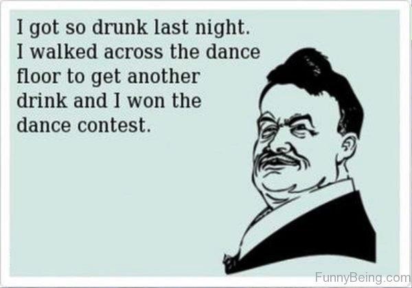 I Got So Drunk Last Night