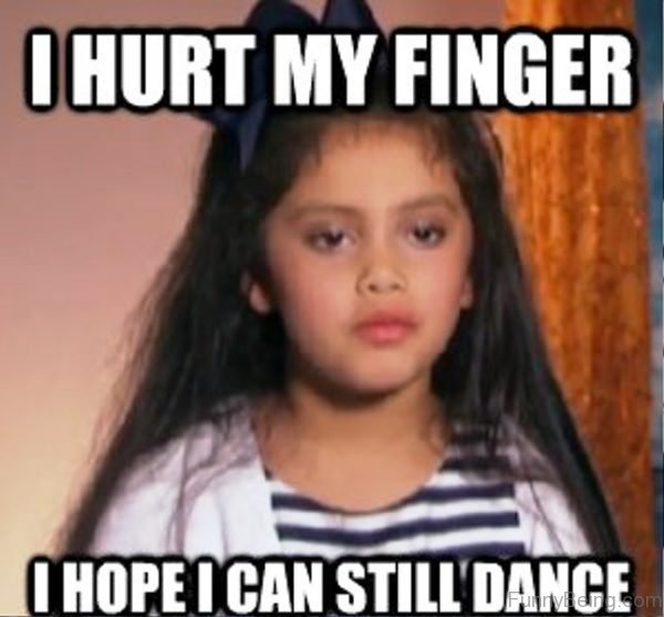 I Hurt My Finger