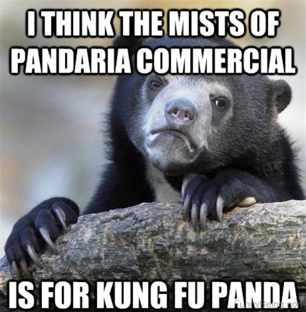 I Think The Mists Of Pandaria Commercial