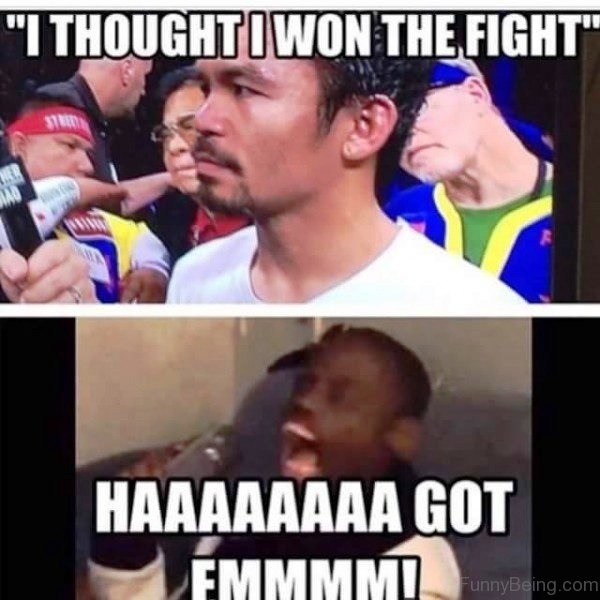 I Thought I Won The Fight