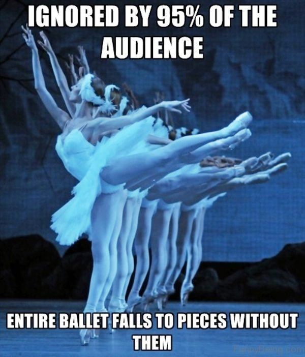 Ignored By 95 Percent Of The Audience