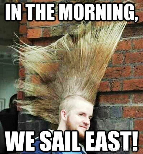 In The Morning We Sail East