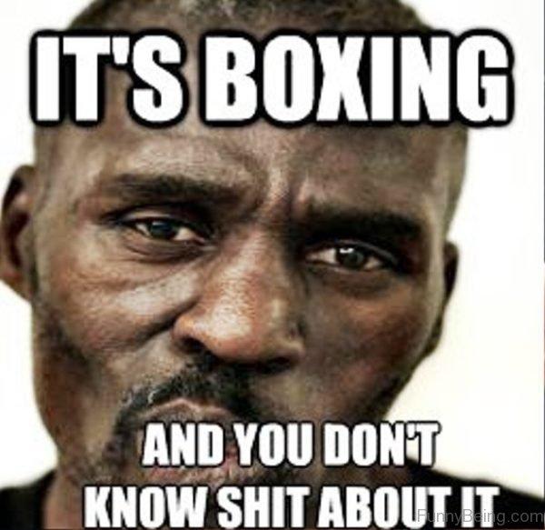 Its Boxing