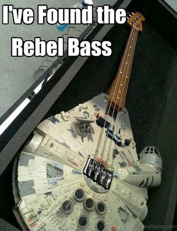 Ive Found The Rebel Bass