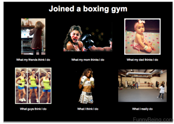 Joined A Boxing Gym