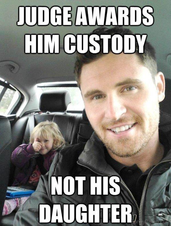 Judge Awards Him Custody