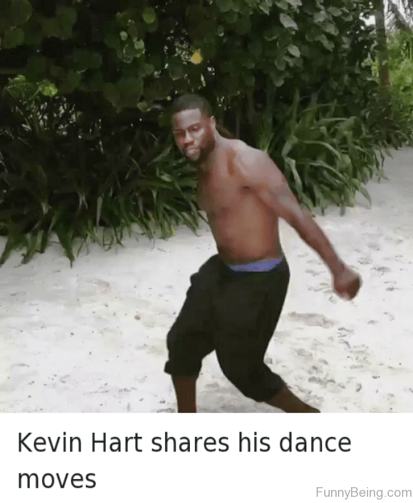 Kevin Hart Shares His Dance Moves