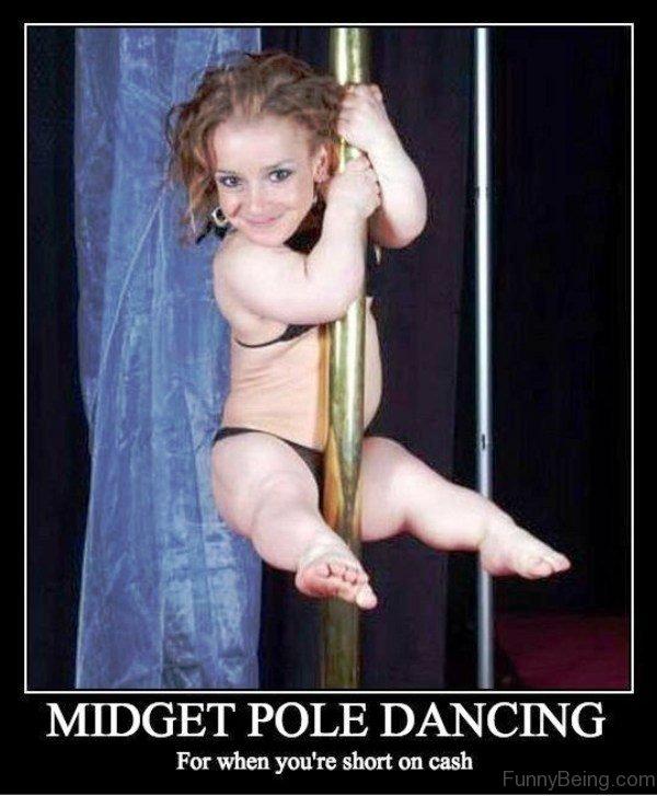 Midget Pole Dancing