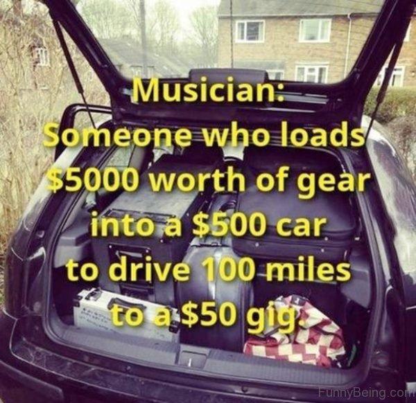 Musician Someone Who Loads