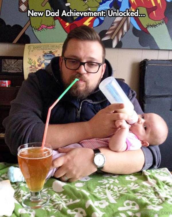 New Dad Achievement Unlocked