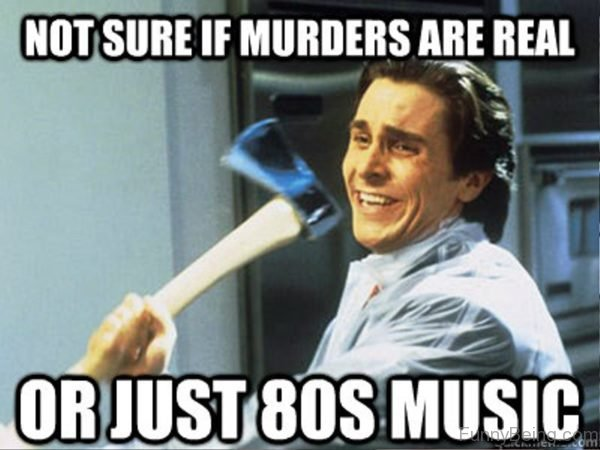 Not Sure If Murders Are Real