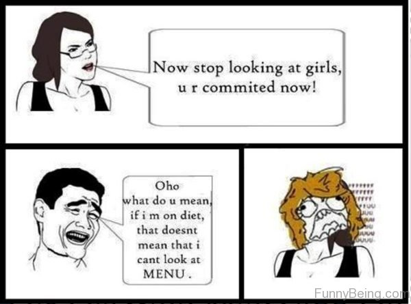 Now Stop Looking At Girls