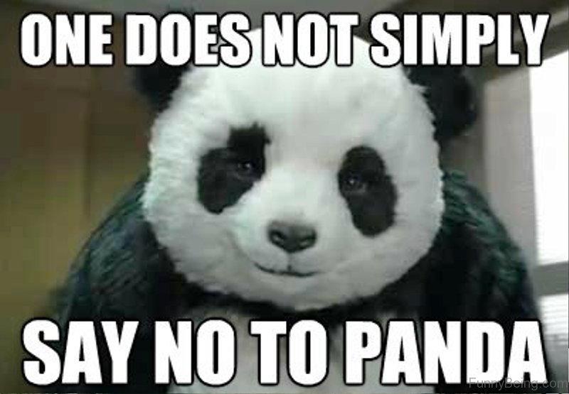 One Does Not Simply Say No To Panda 84 stupid panda memes