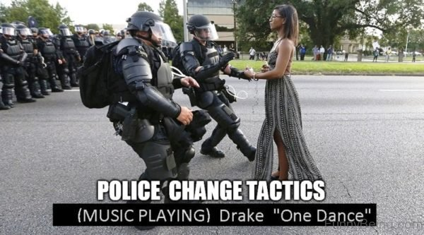 Police Change Tactics