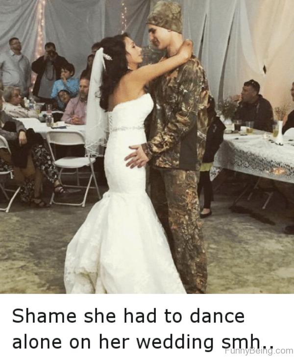 Shame She Had To Dance Alone