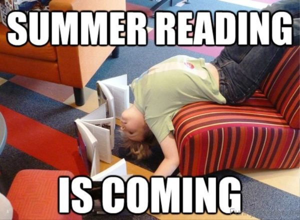 Summer Reading Is Coming