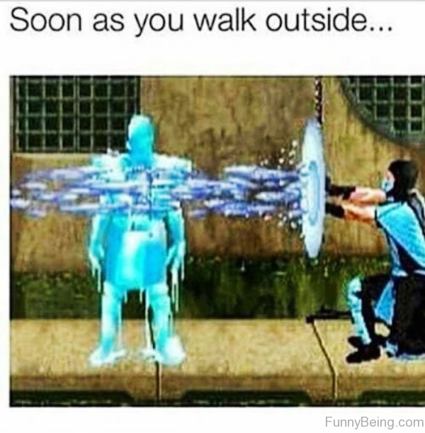 Soon As You Walk Outside