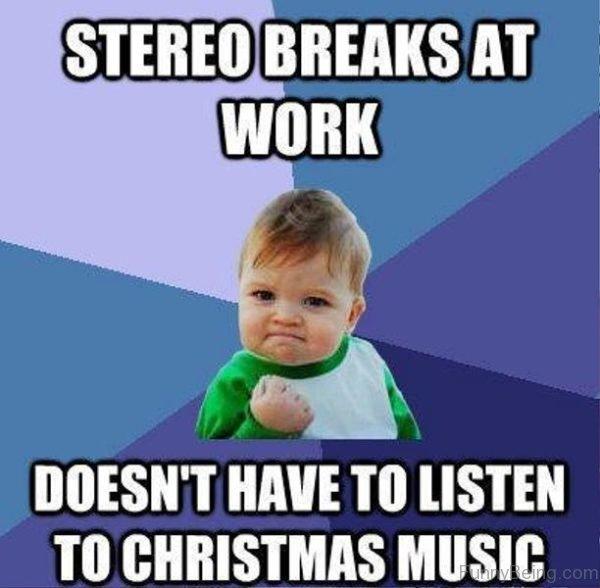 Stereo Breaks At Work