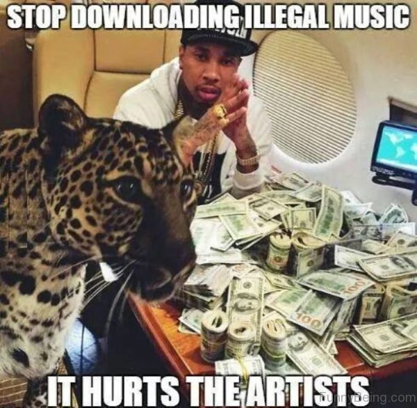 Stop Downloading Illegal Music