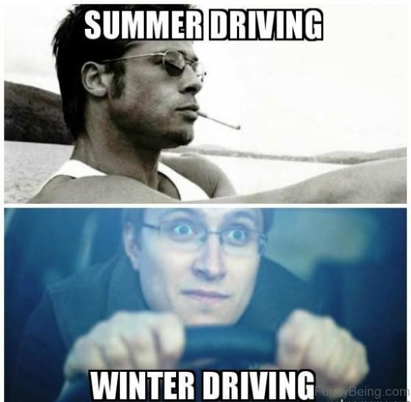 Summer Driving Vs Winter Driving