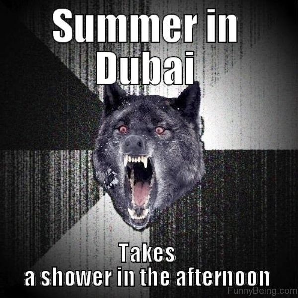 Summer In Dubai