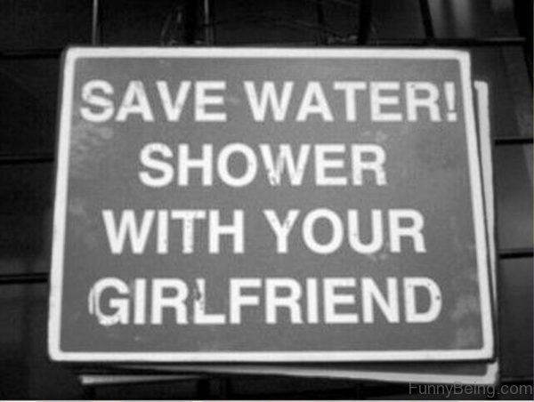 Svae Water Shower With Your Girlfriend