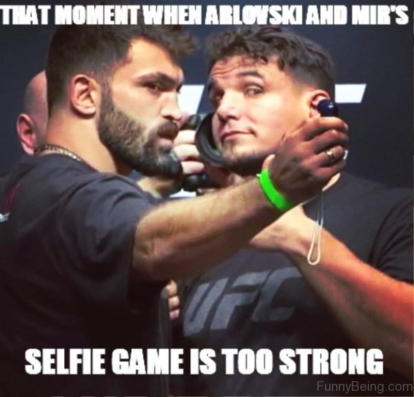 That Moment When Arlovski And Mir