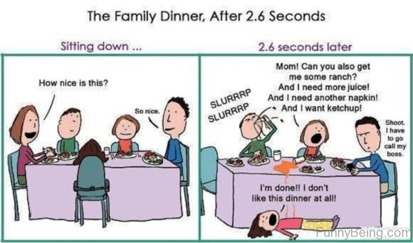 The Family Dinner After