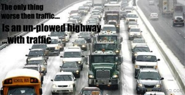 The Only Thing Worse Then Traffic