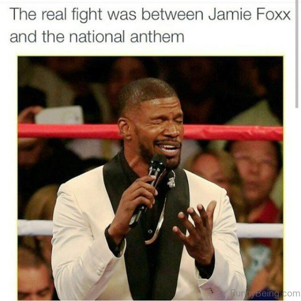 The Real Fight Was Between Jamie Foxx