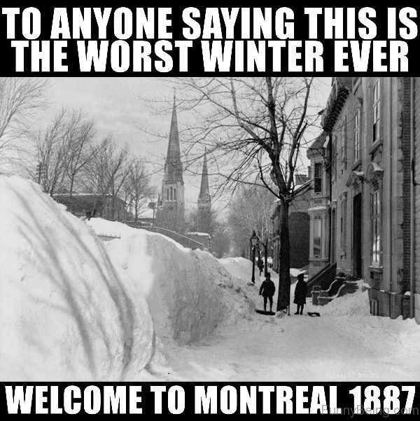 To Anyone Saying This Is The Worst Winter